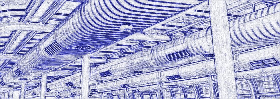 трубопроводы вентиляции