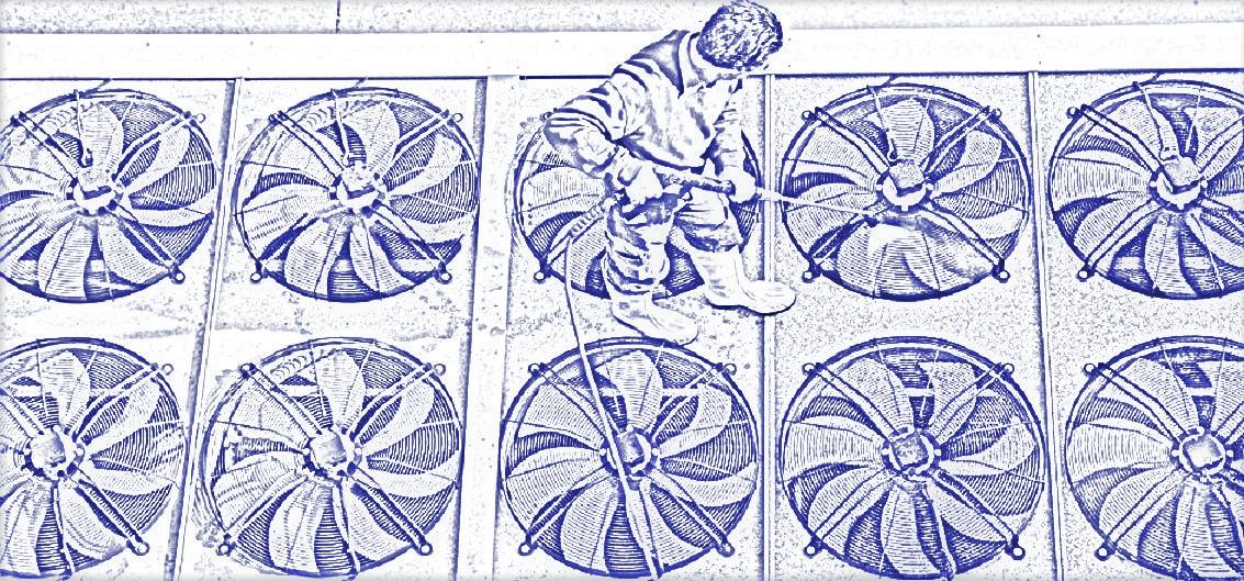 промывка вентиляторов